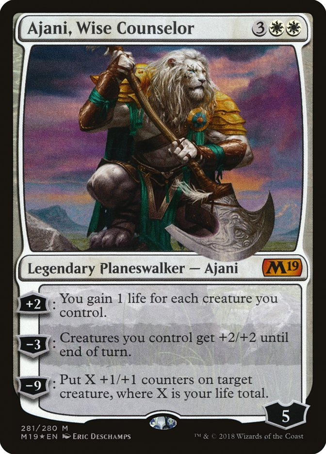 Ajani, Wise Counselor