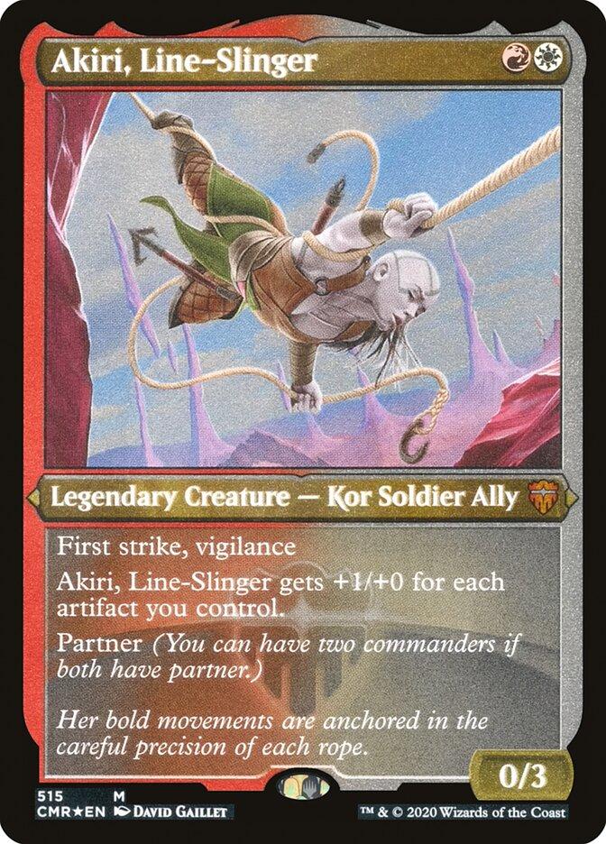 Akiri, Line-Slinger