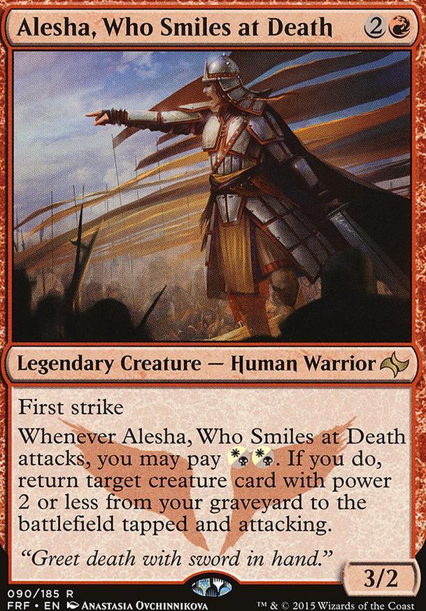 Alesha Aggro (EDH / Commander) — deckstats net   Magic: The