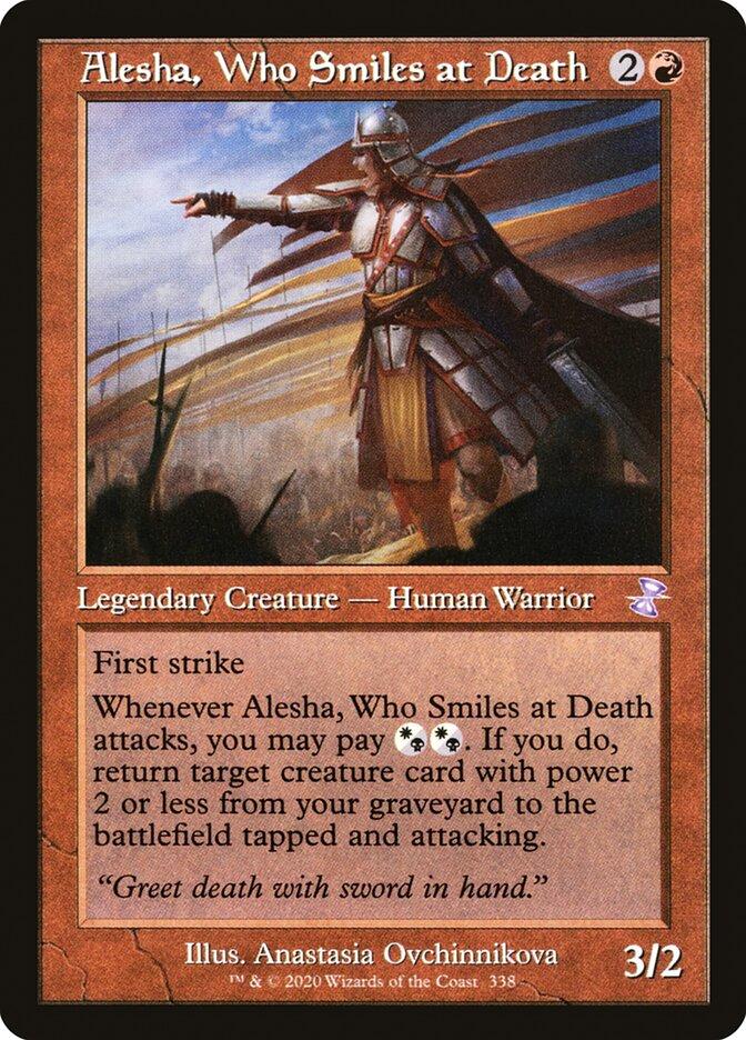 Alesha, Who Smiles at Death