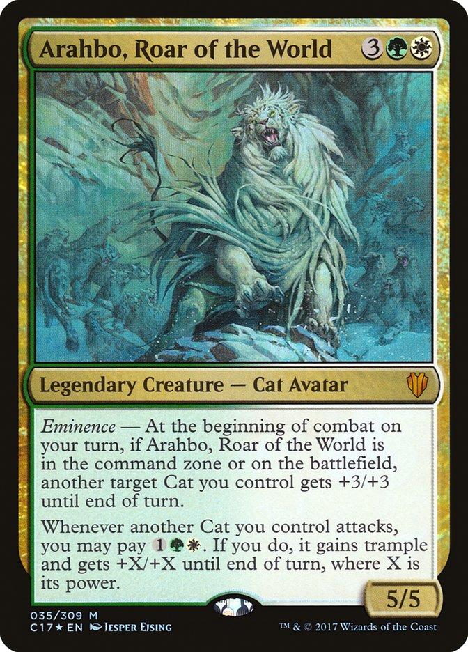 Arahbo, Roar of the World