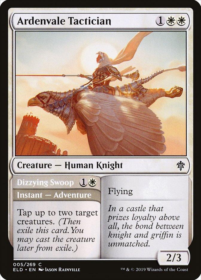 Ardenvale Tactician // Dizzying Swoop
