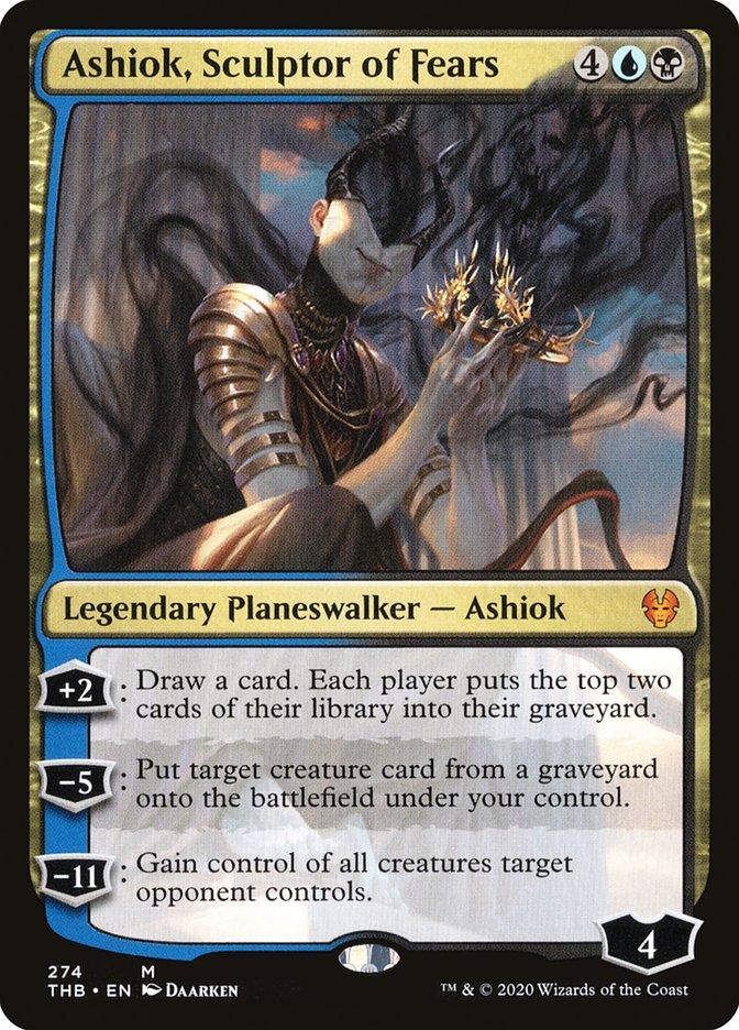 Ashiok, Sculptor of Fears