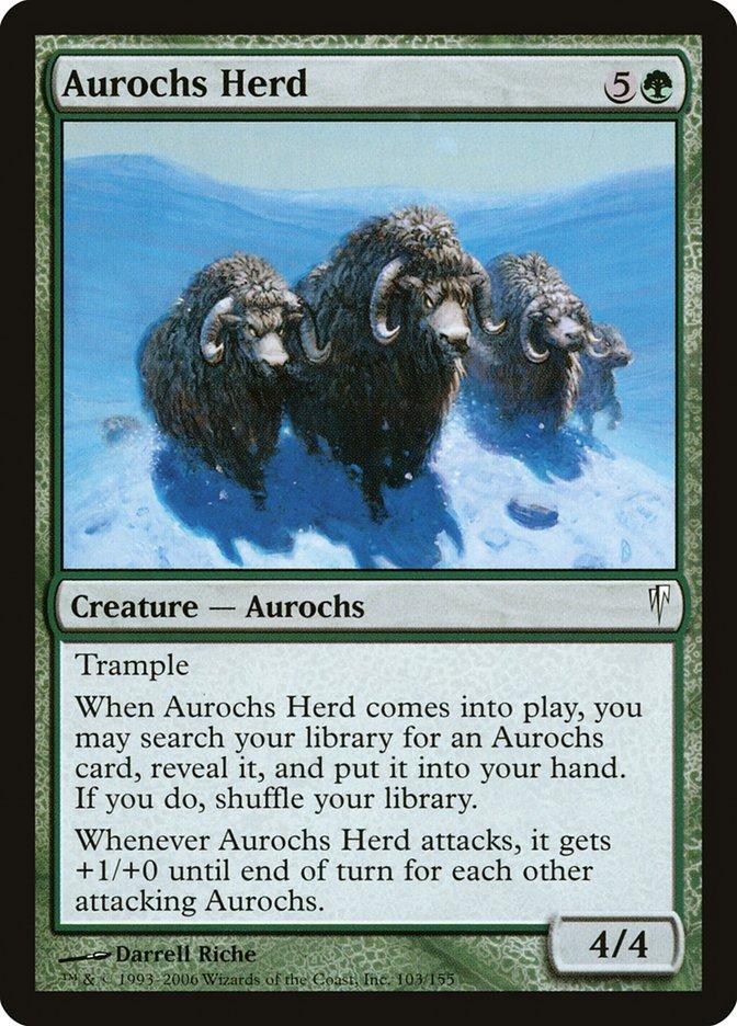 Aurochs Herd