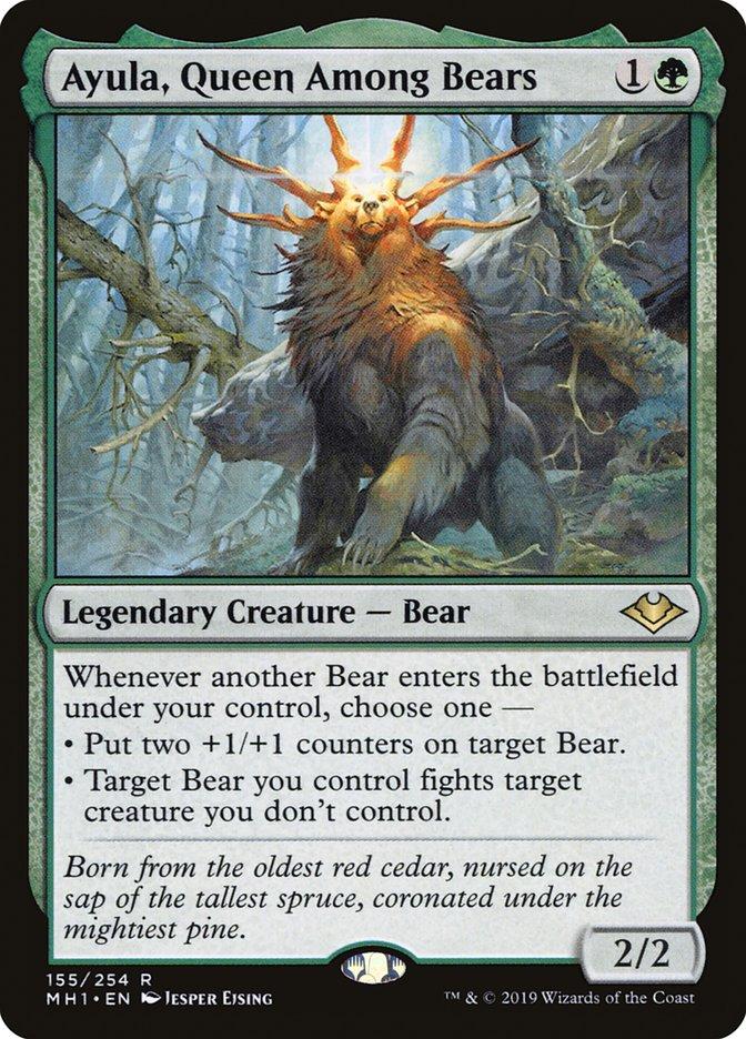 ayula bear tribal (EDH / Commander) — deckstats net | Magic