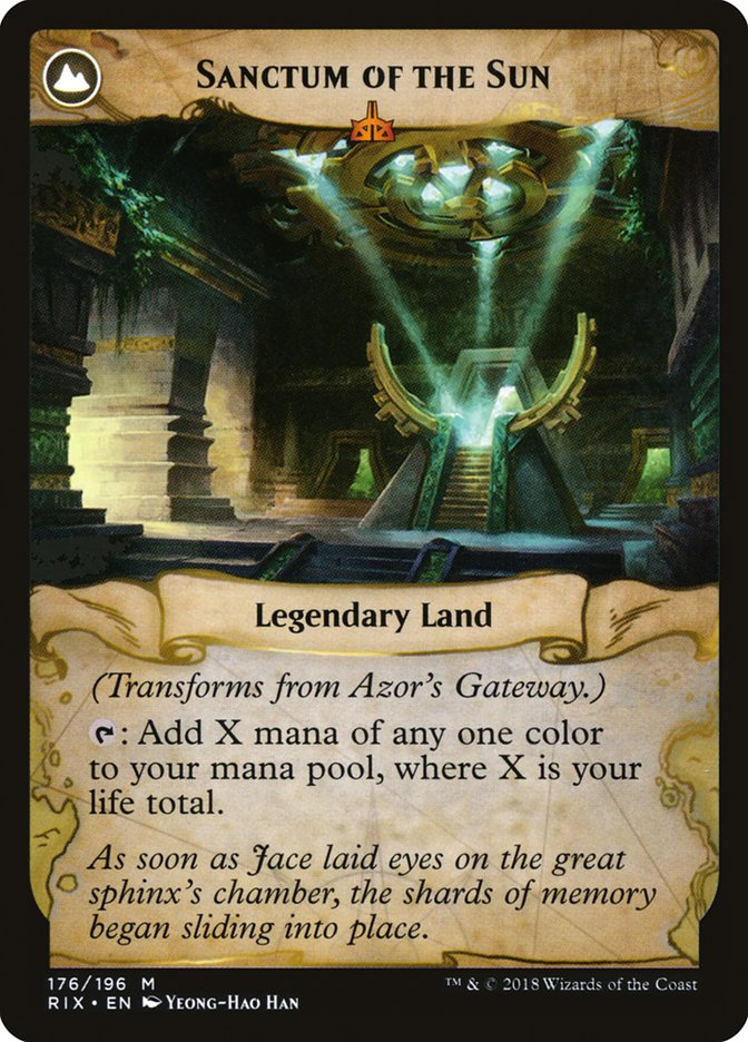 Azor's Gateway // Sanctum of the Sun