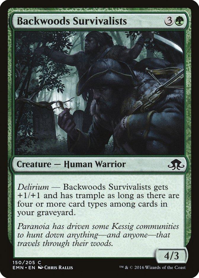 Backwoods Survivalists