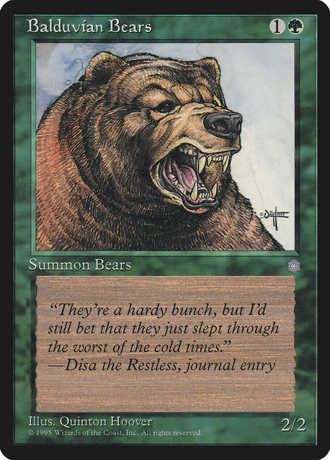Balduvian Bears