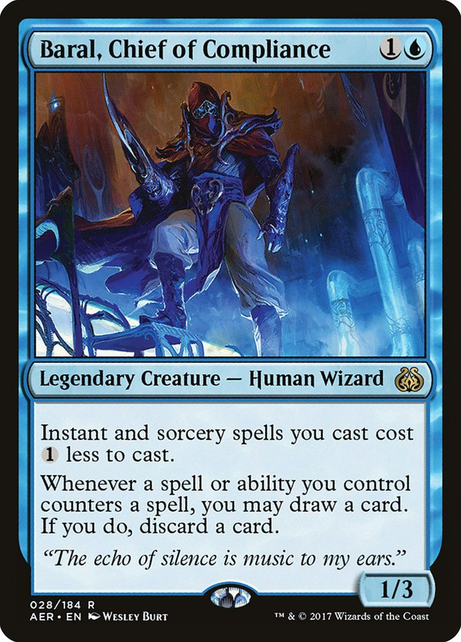 Baral, Chief of Compliance