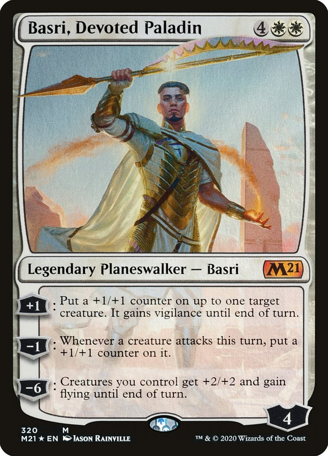 Basri, Devoted Paladin