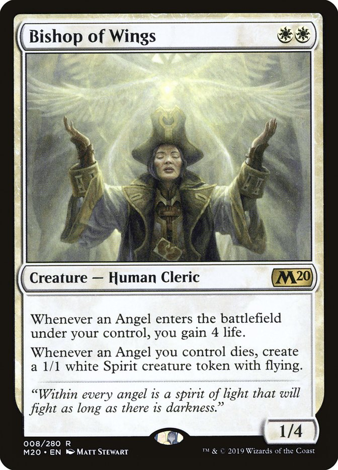 Bishop of Wings - Magic: The Gathering Card Info