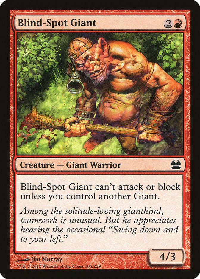 Blind-Spot Giant