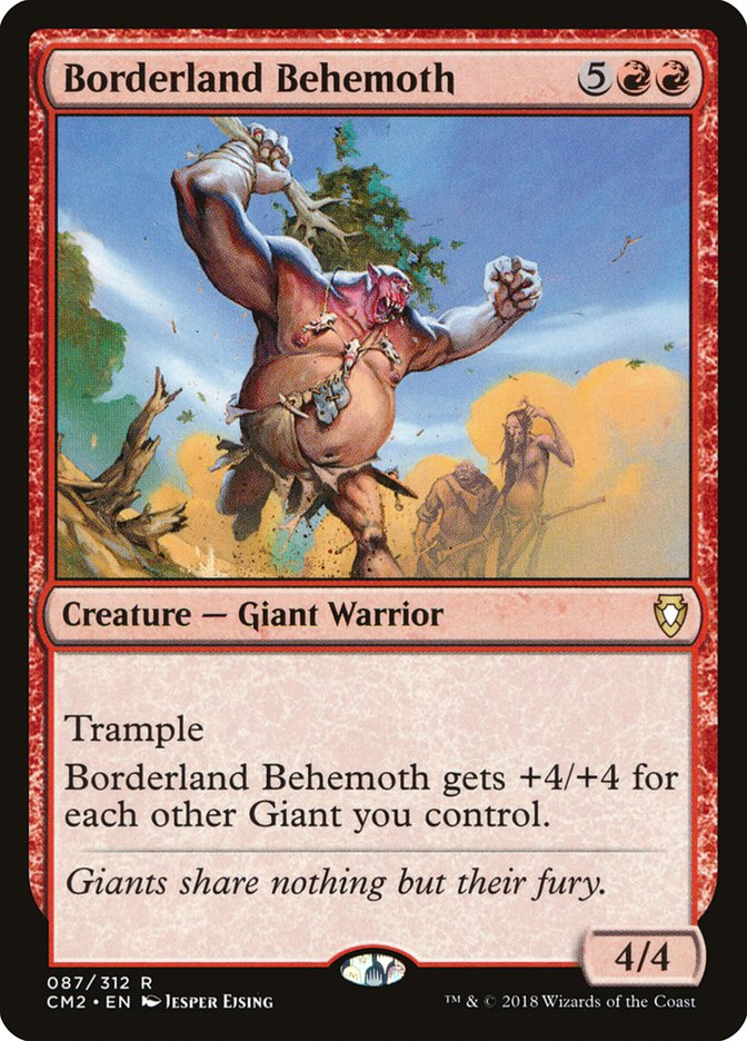 Borderland Behemoth
