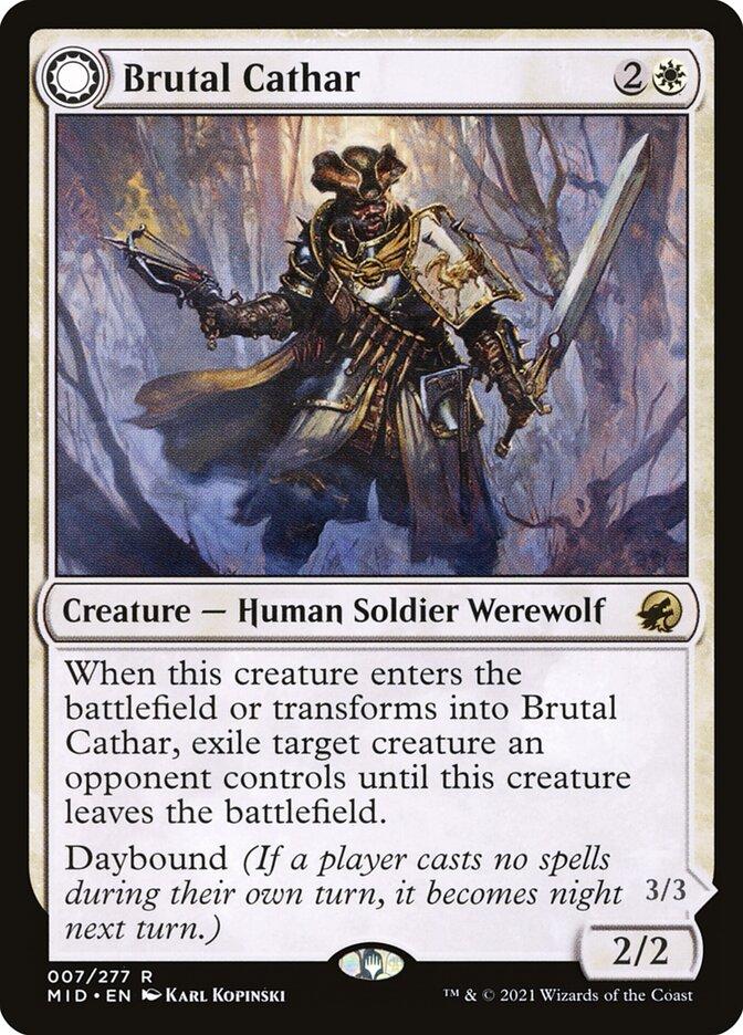 Brutal Cathar // Moonrage Brute