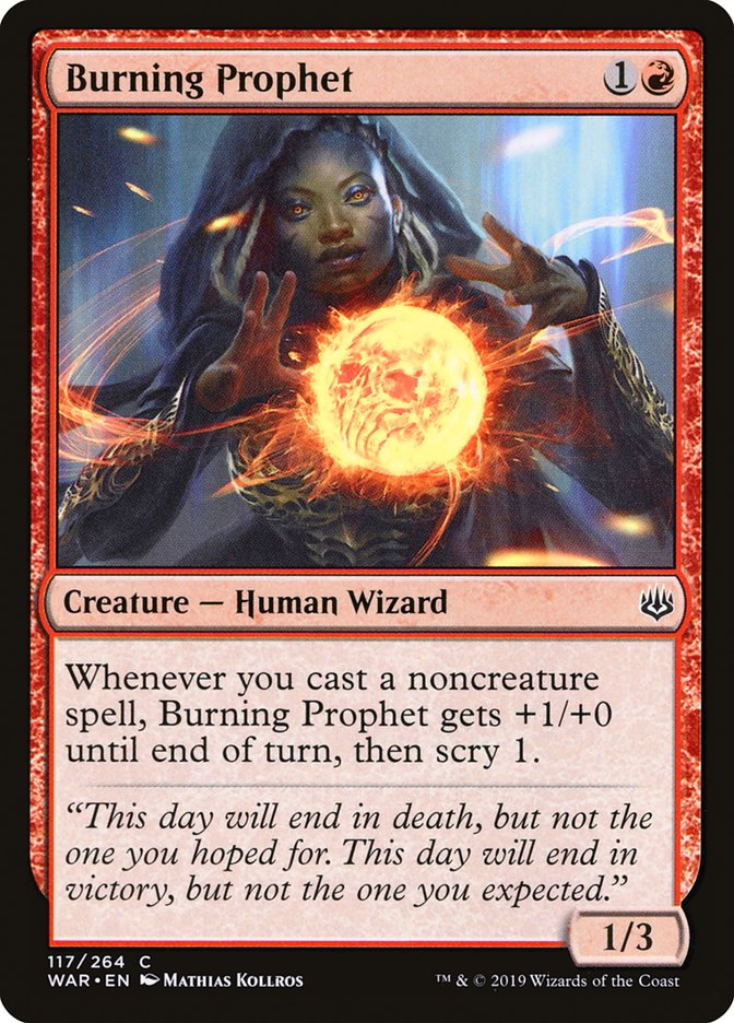 Burning Prophet
