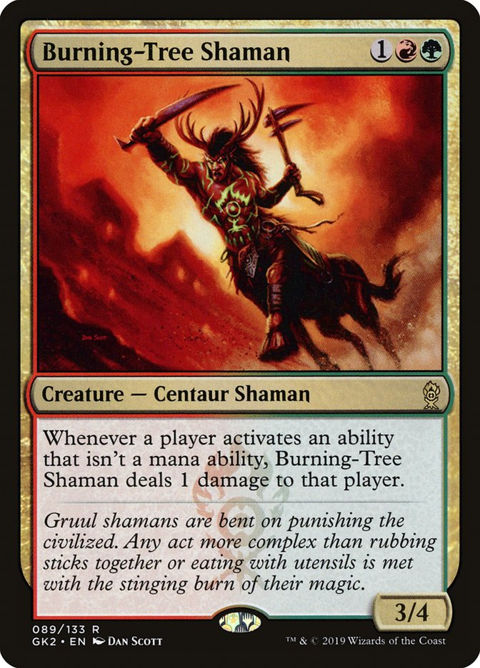 Burning-Tree Shaman