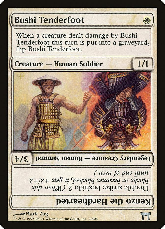 Bushi Tenderfoot // Kenzo the Hardhearted