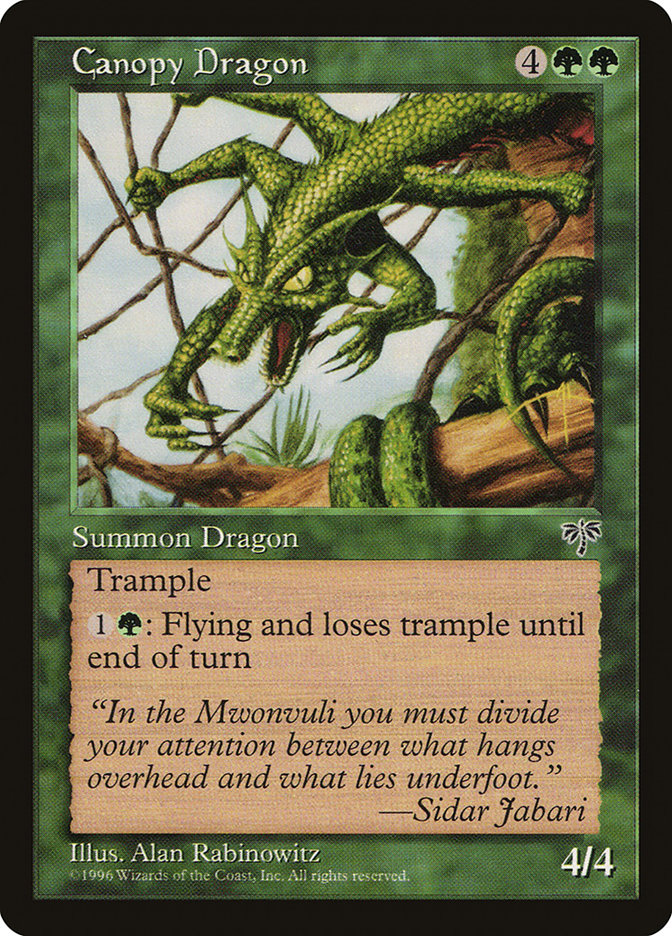 Canopy Dragon