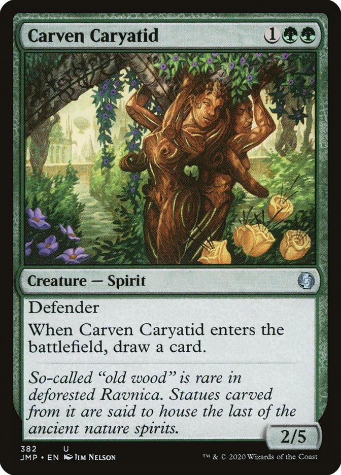 Carven Caryatid