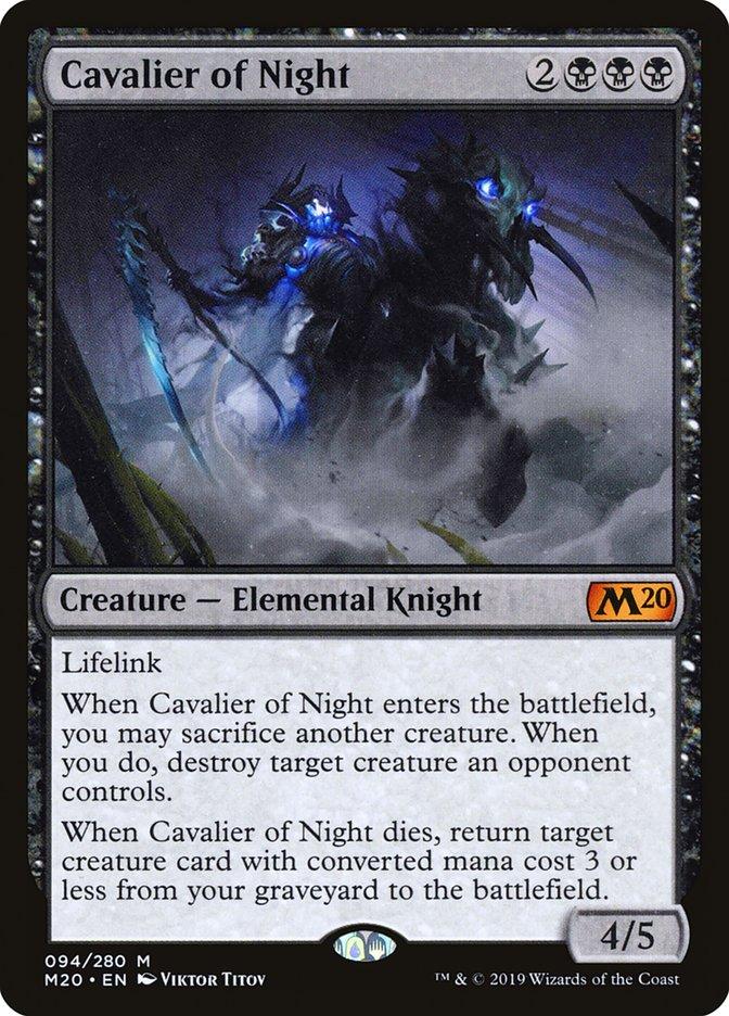 Cavalier of Night