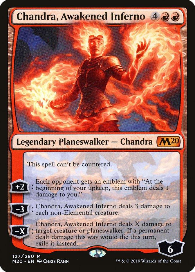 Chandra, Awakened Inferno
