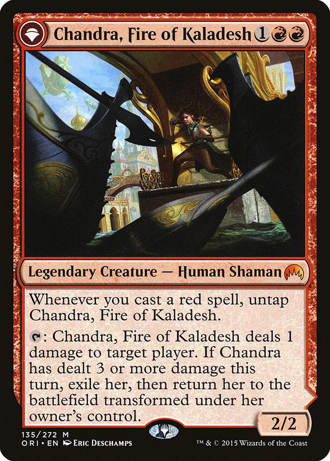 Chandra, Fire of Kaladesh // Chandra, Roaring Flame