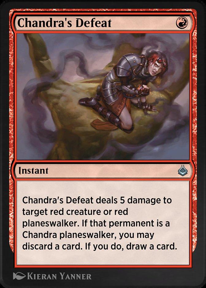 Chandra's Defeat