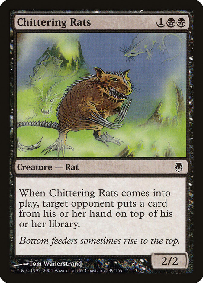 Chittering Rats