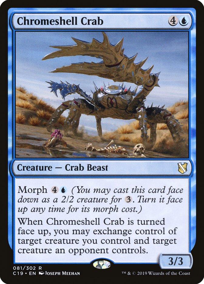Chromeshell Crab