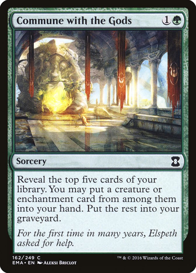 Commune with the Gods