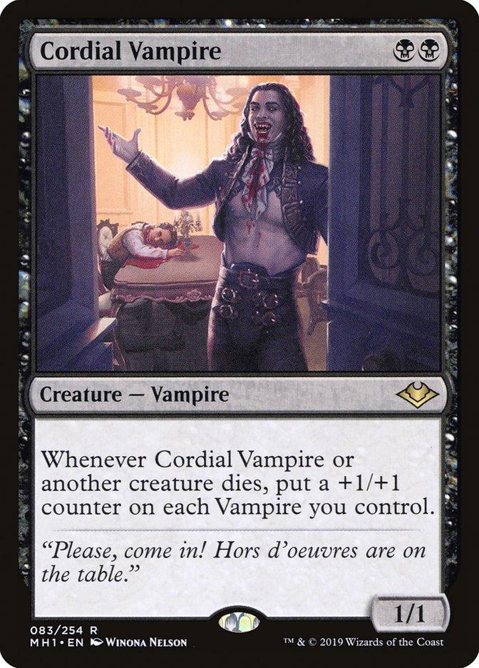 Cordial Vampire