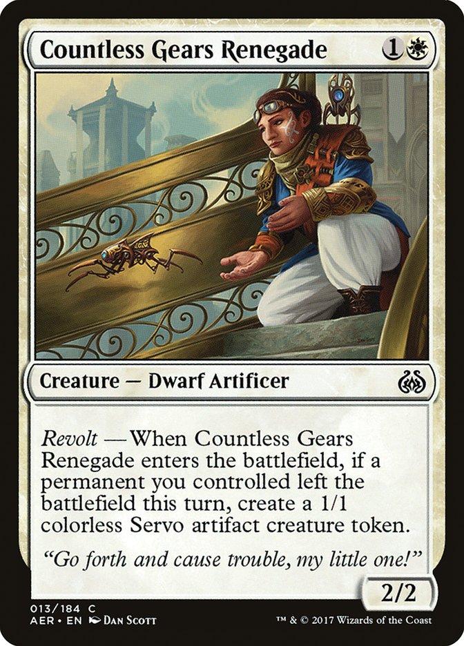 Countless Gears Renegade