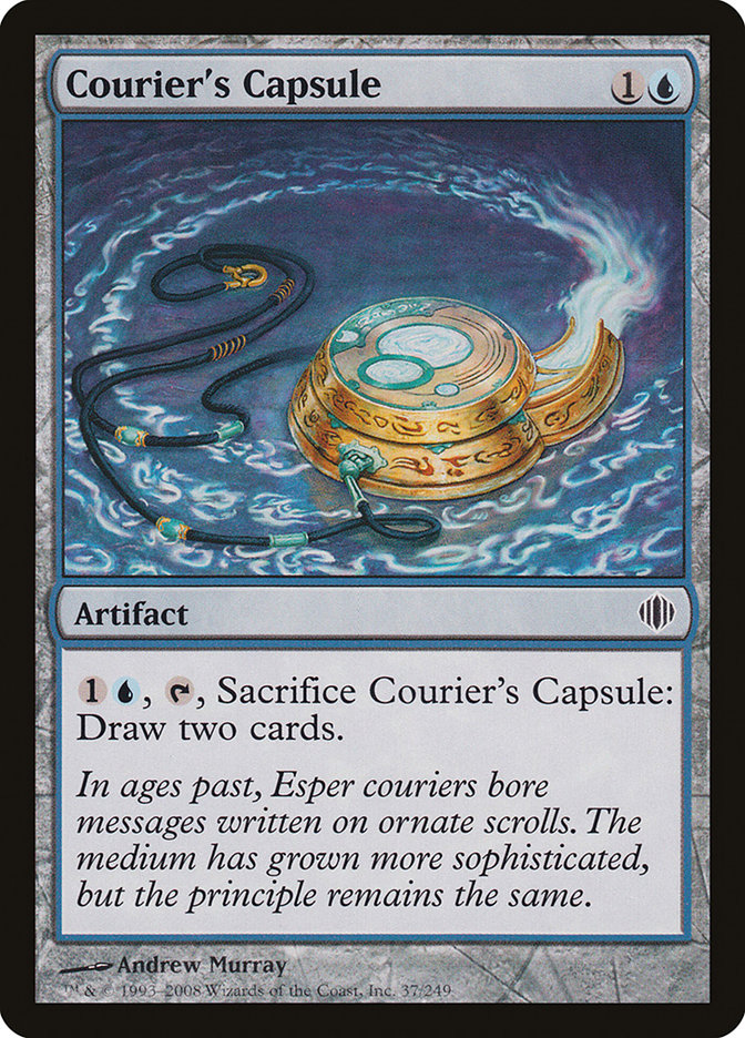 Courier's Capsule