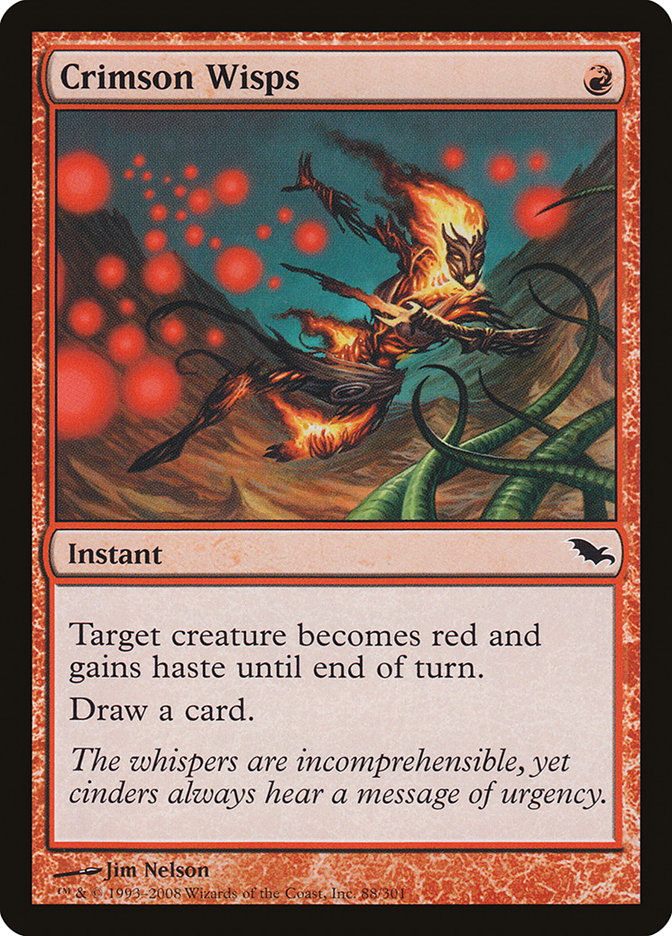 Crimson Wisps