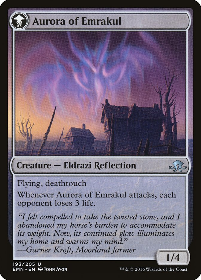 Cryptolith Fragment // Aurora of Emrakul