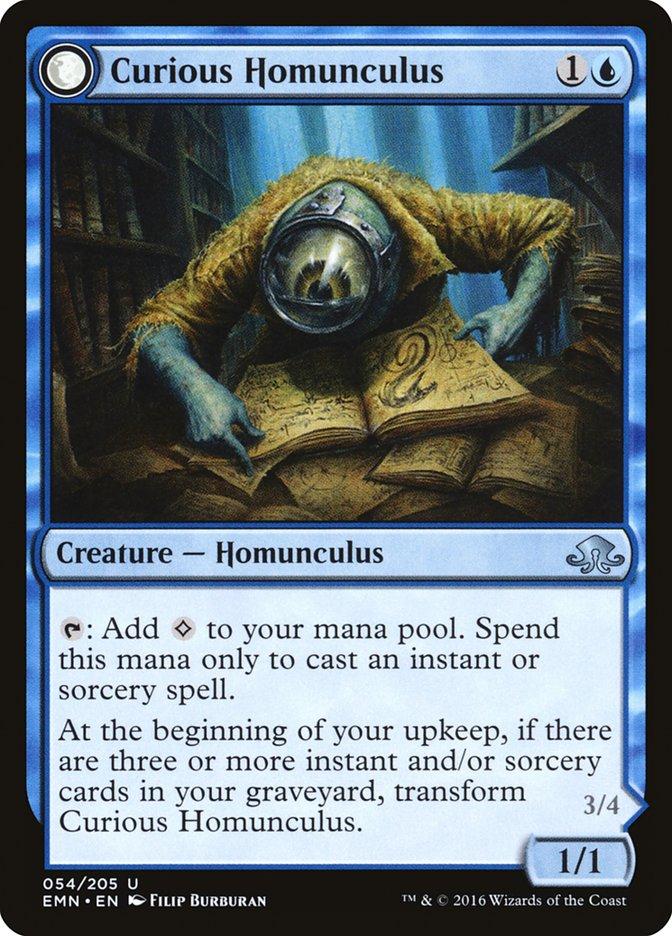 Curious Homunculus // Voracious Reader