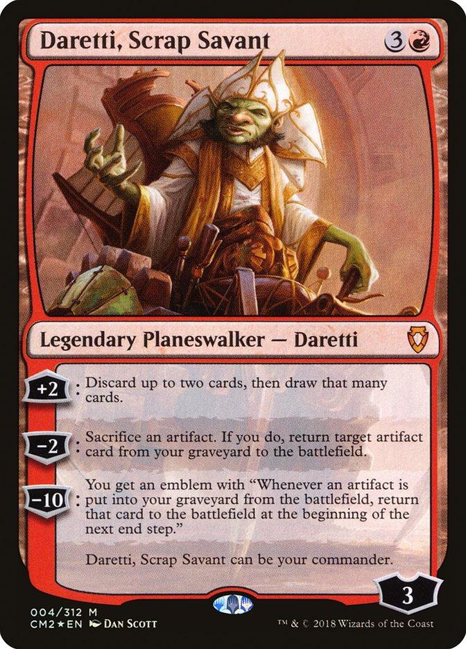 Daretti 2019 (EDH / Commander) — deckstats net | Magic: The