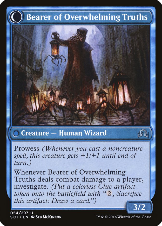 Daring Sleuth // Bearer of Overwhelming Truths