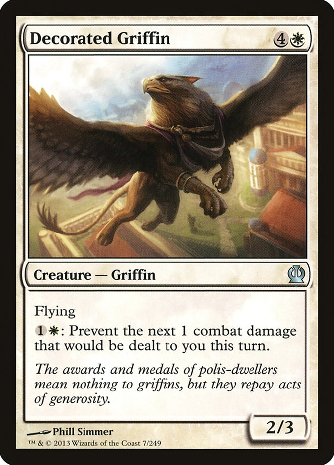 Decorated Griffin
