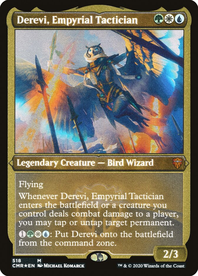 Derevi, Empyrial Tactician