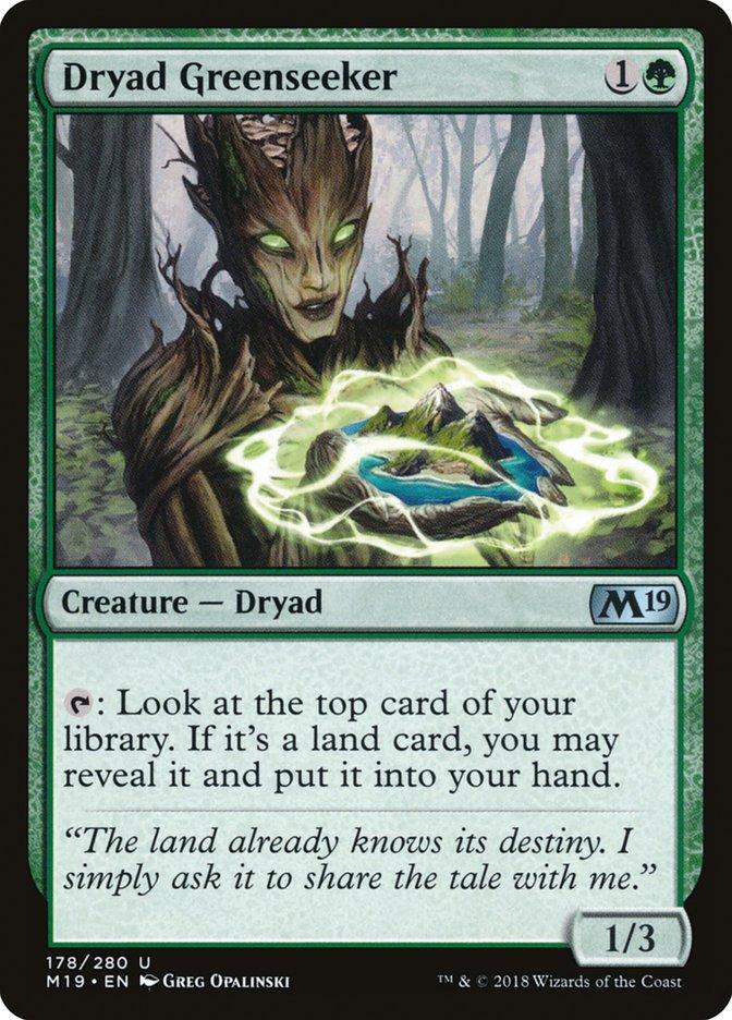 Dryad Greenseeker
