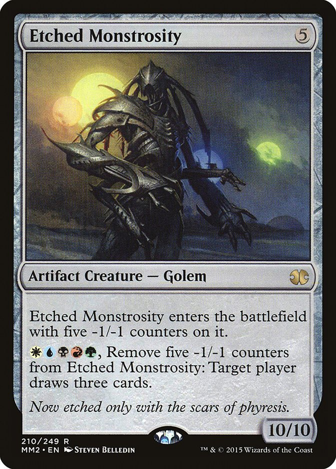 Etched Monstrosity