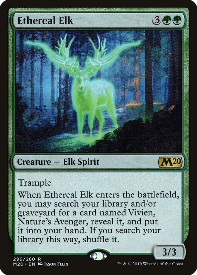 Ethereal Elk