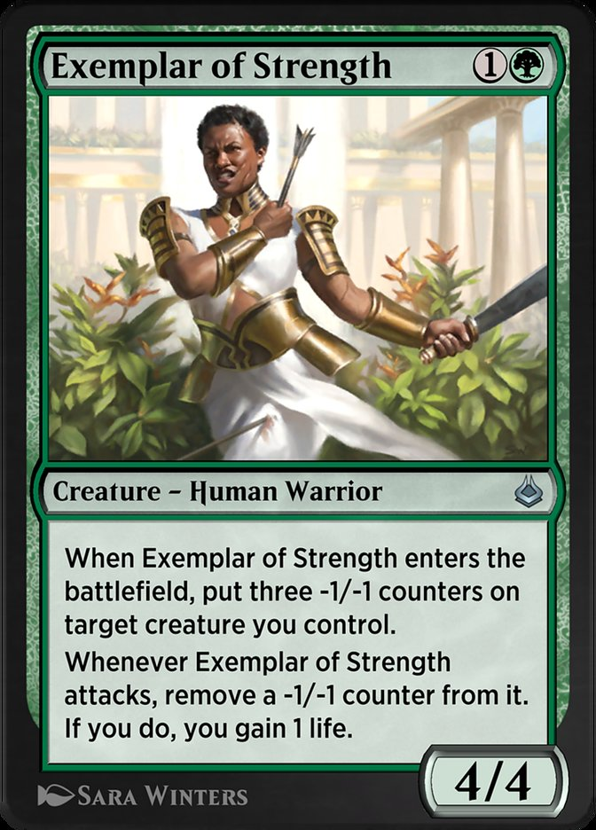 Exemplar of Strength