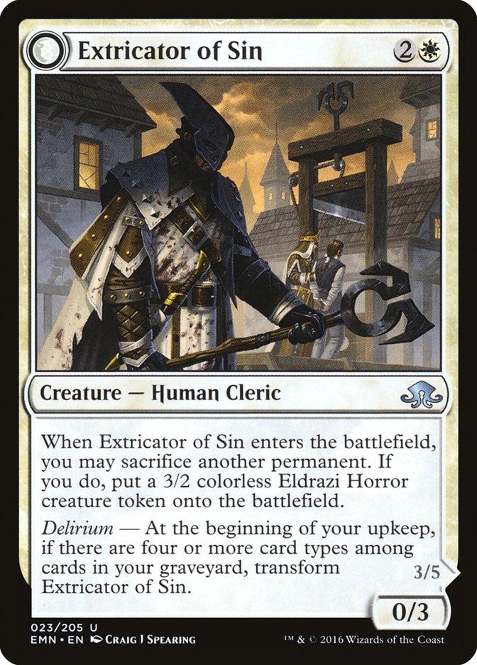 Extricator of Sin // Extricator of Flesh