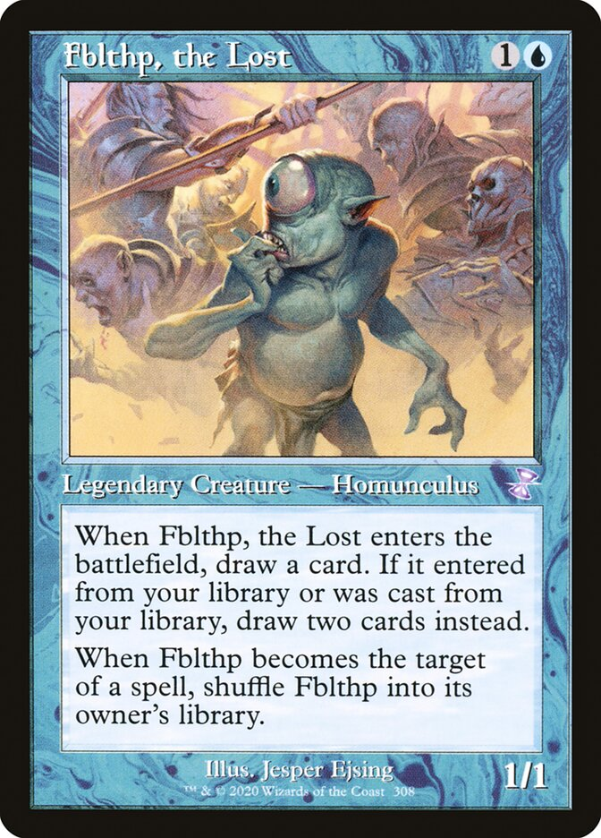 Fblthp, the Lost
