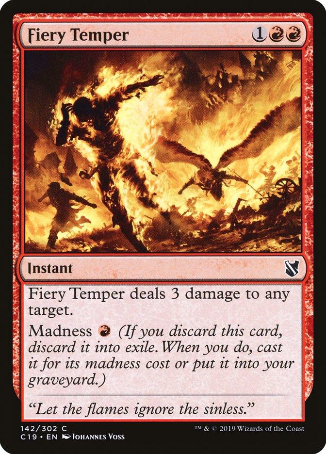 Fiery Temper