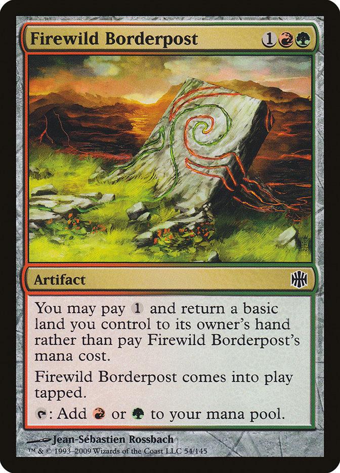 Firewild Borderpost