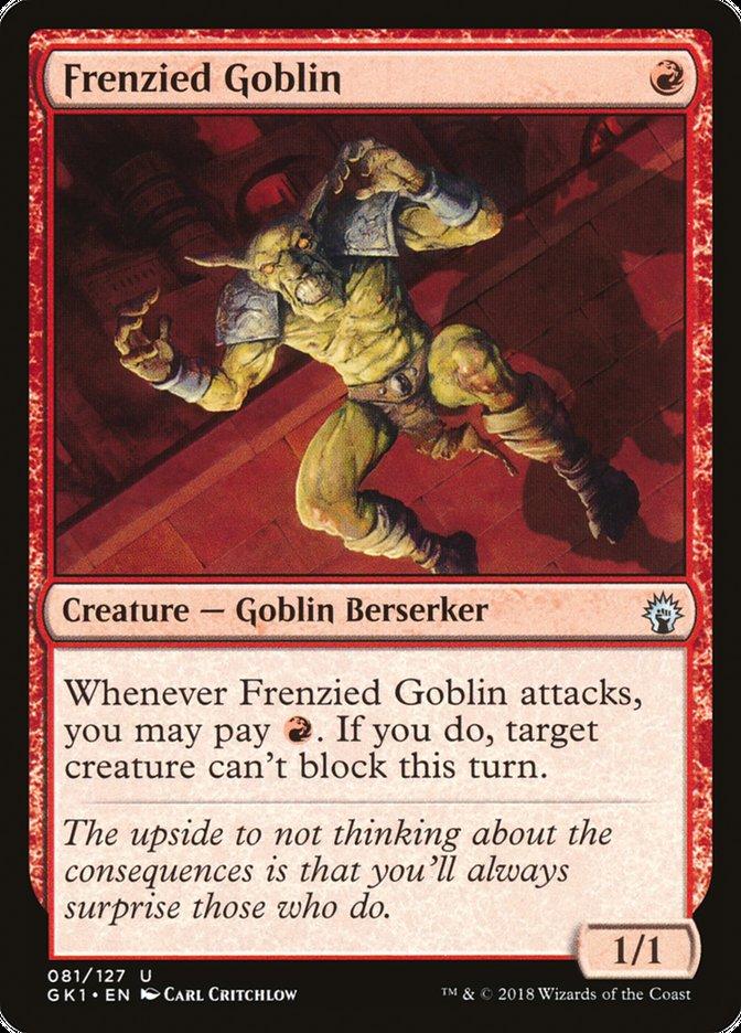 Frenzied Goblin