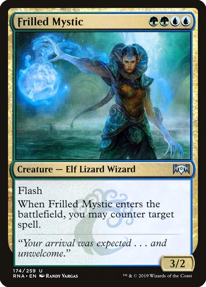 Frilled Mystic